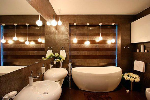Дополнительное освещение в ванной