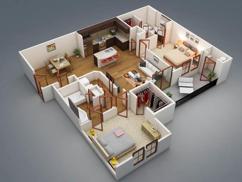 Проект дома 8х10 с отличной и рациональной планировкой: подборка фото