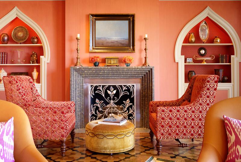 Нежное марево: персиковый цвет в интерьере