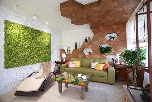 Вертикальный сад в дизайне квартиры