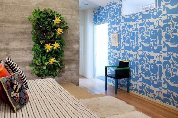 Маленький сад в квартире