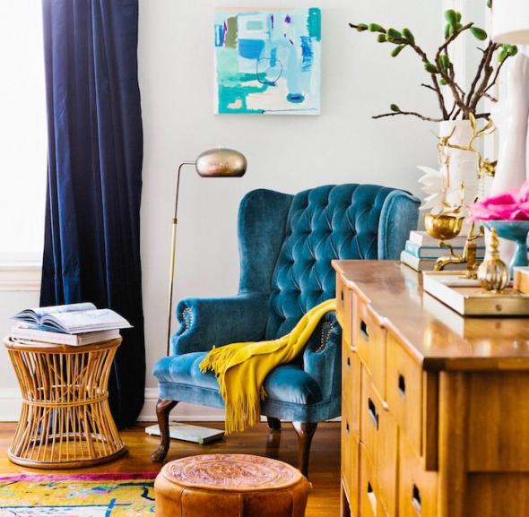 Дизайн комнаты в стиле бохо