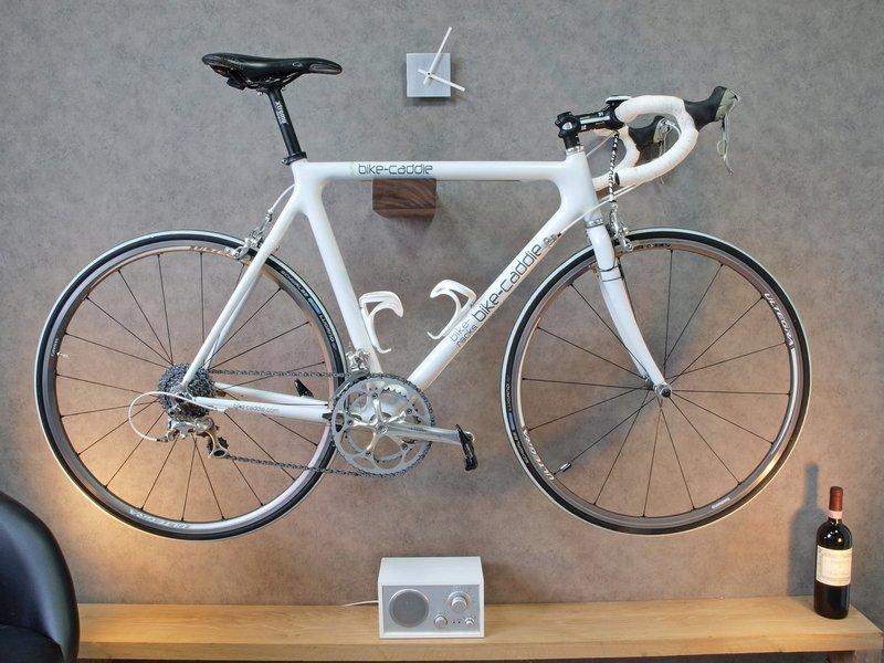 Крепление велосипеда на стену своими руками