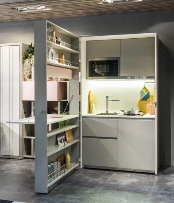 Кухонная мебель для малогабаритной квартиры