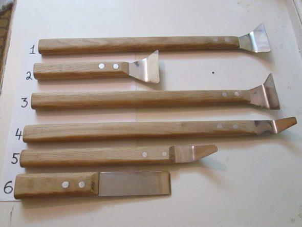 Лопатки для натяжных потолков