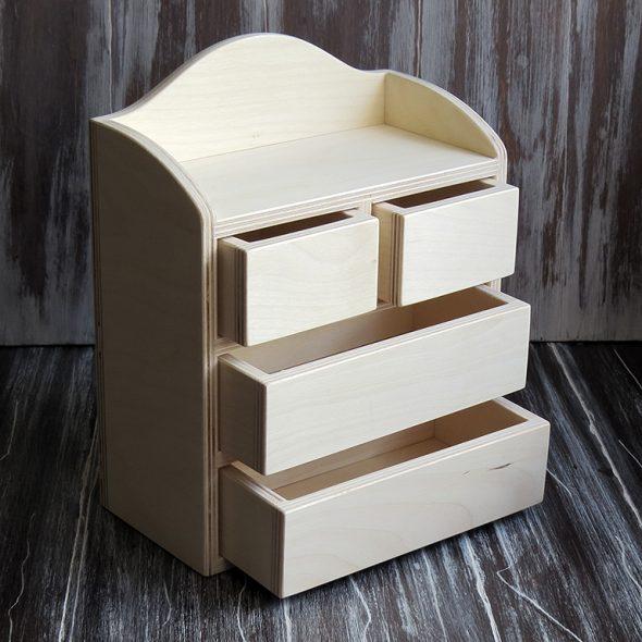 Шкатулка-органайзер из фанеры