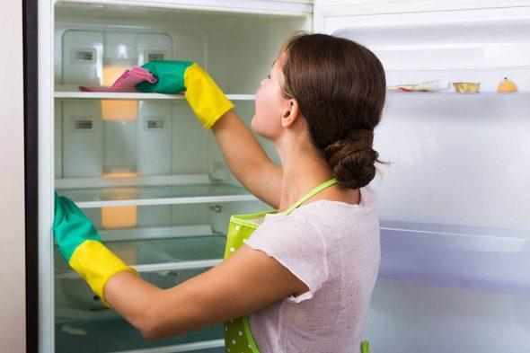 Уборка в холодильнике