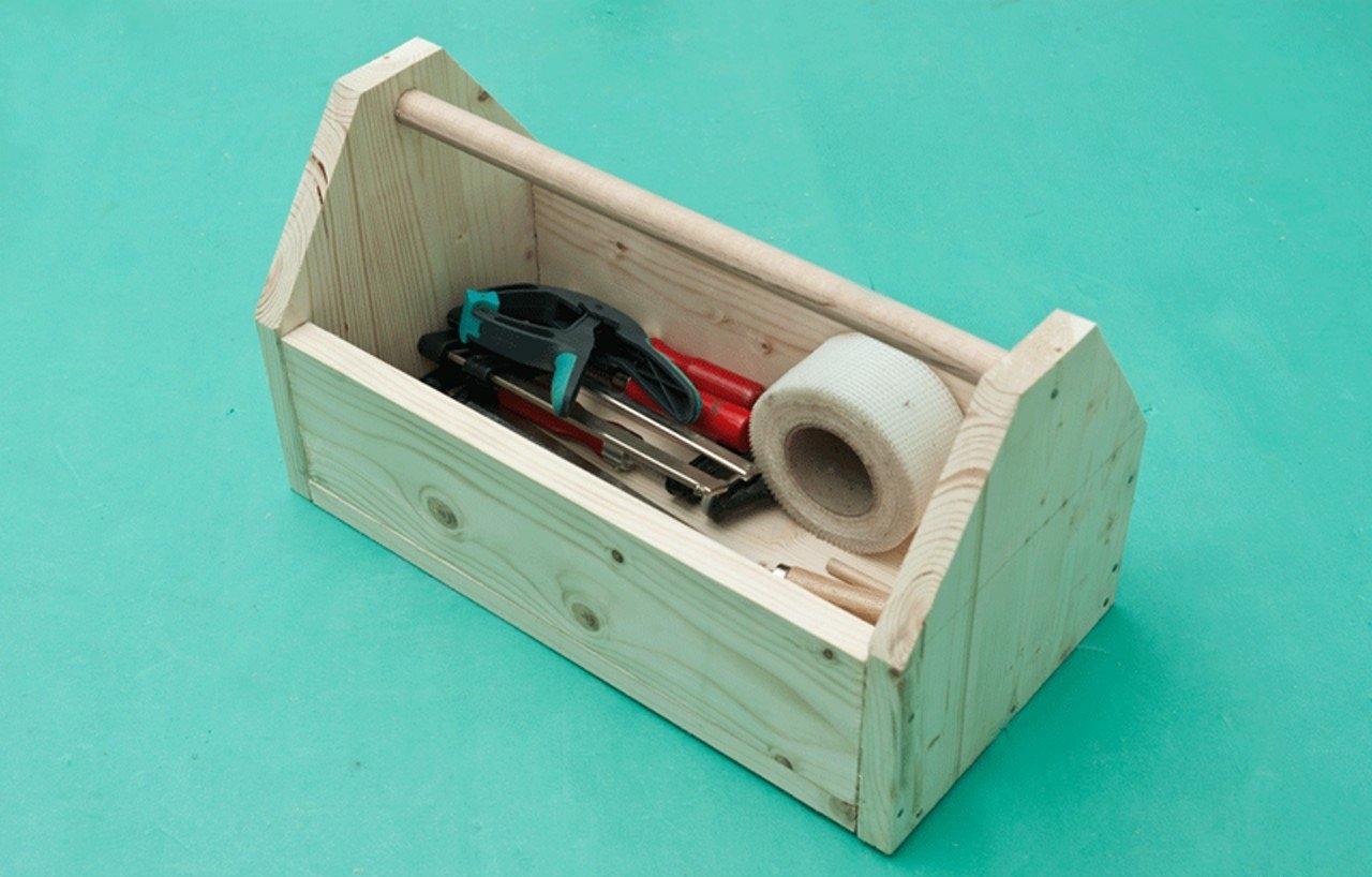 Ящик для инструментов своими руками: из дерева, металла, на колёсиках