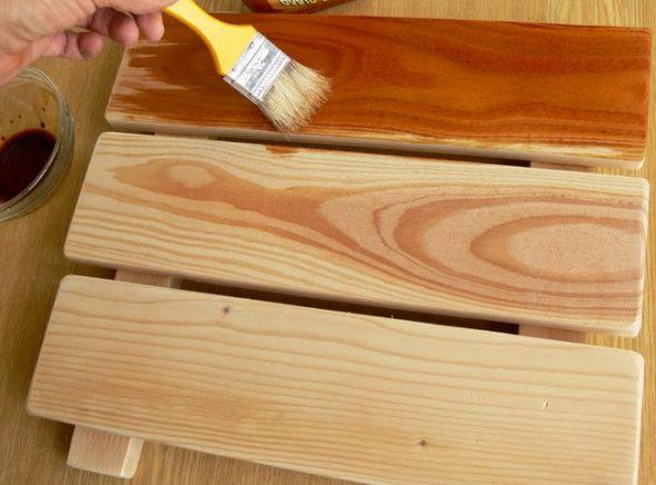 Обработка деревянных элементов