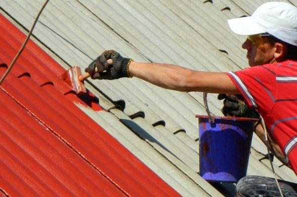 Покрытие крыши резиновой краской