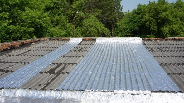 Покрытие крыши «Ризолином»