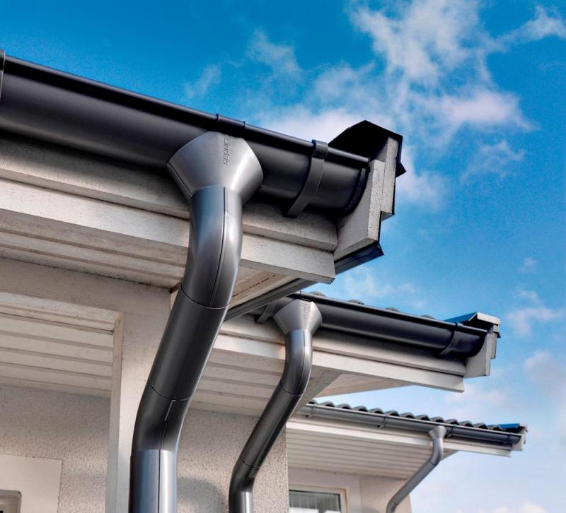 Как изготовить водосток для крыши своими руками