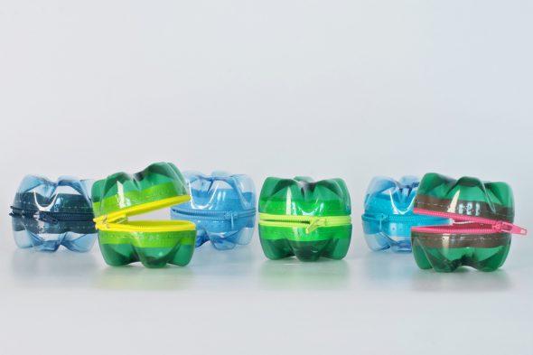 Кошельки из пластиковых бутылок