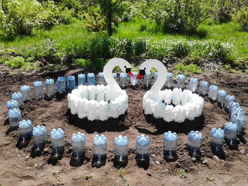 Поделки из пластиковых бутылок своими руками: фото