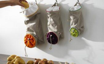 Диспенсер из ткани для овощей