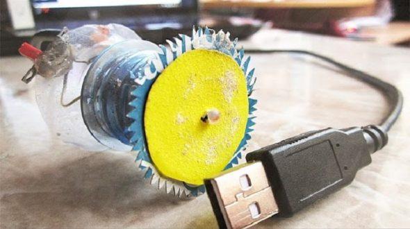 самодельная мини-пила USB