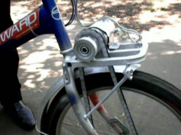 Велосипедный привод из шуруповерта своими руками