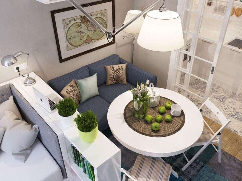 Дизайн квартиры студии 13 кв.м: реальные фото и советы