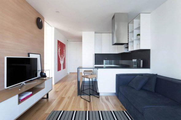 Мебель в маленькой квартире-студии