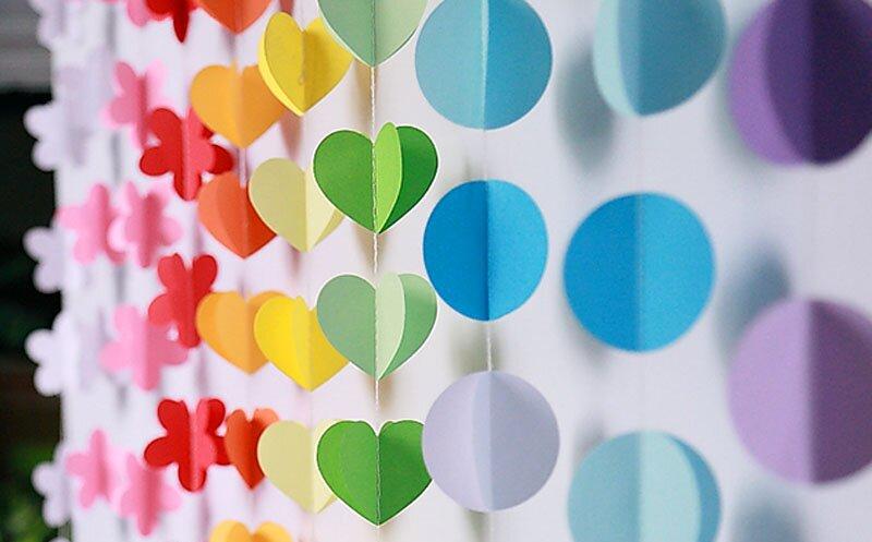 Идеи для декора комнаты из бумаги: интересные и простые примеры
