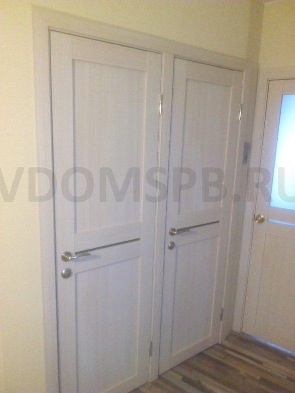 Двери экошпон в ванную и туалет