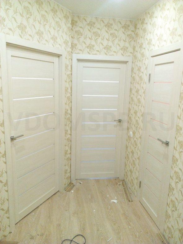 Установка царговых дверей в квартире