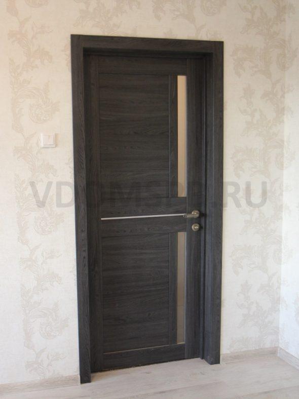 Ламинированная царговая дверь