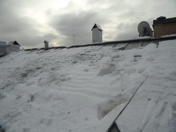 Оцинкованная крыша