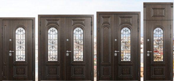 Размеры входных дверей Torex