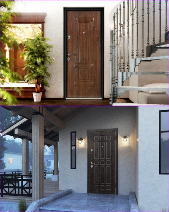 Двери Torex в интерьере и экстерьере дома