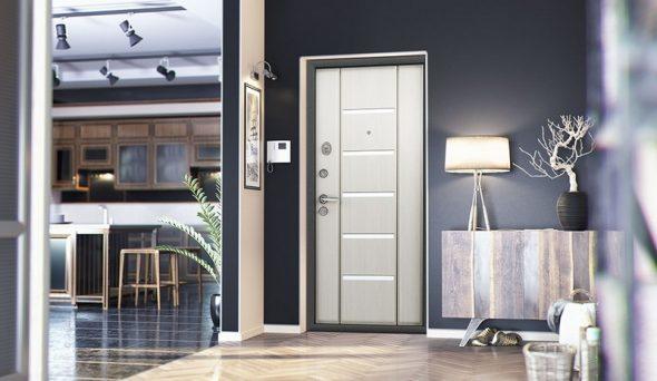 Пример наружной двери с покрытием Cortorex