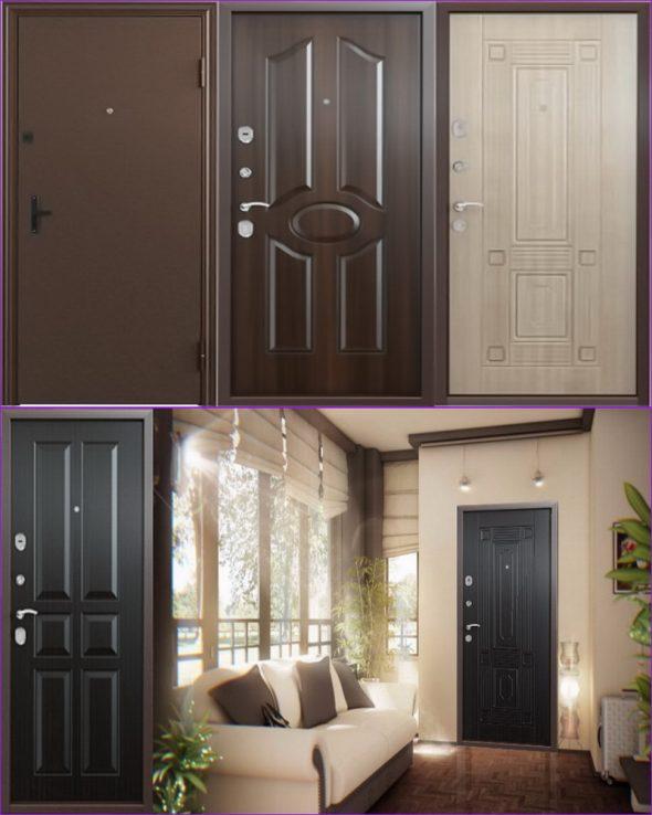 Дверные конструкции низкой ценовой категории