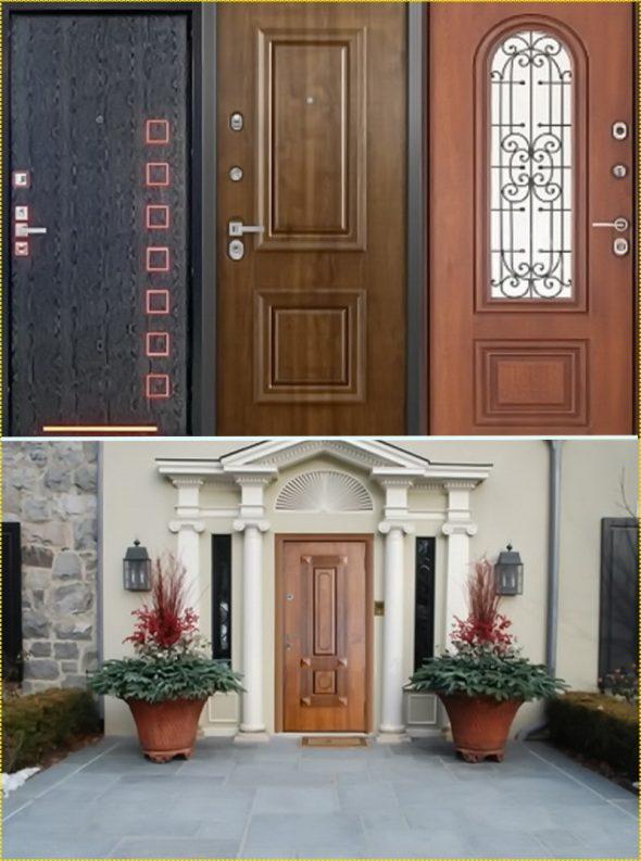 Наружные двери высокого ценового сегмента