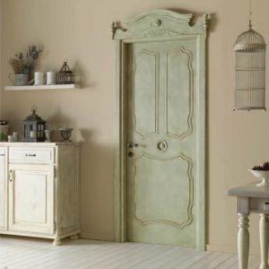 Оливковая дверь прованс