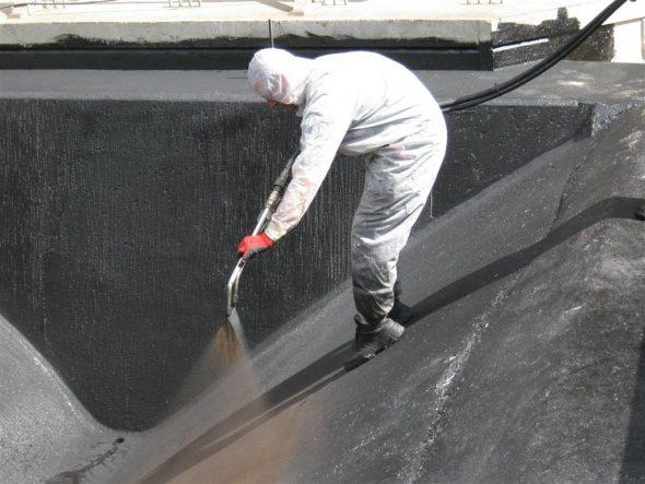 Гидроизоляция ската крыши