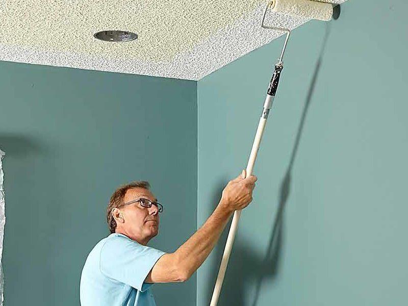 Основные ошибки при покраске потолка своими руками