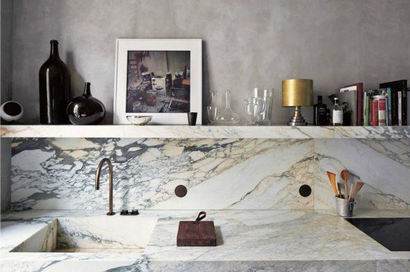 Столешница кухни из камня