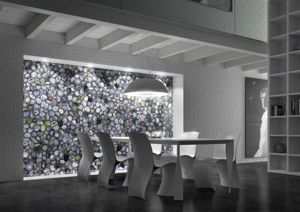 Декоративная каменная панель