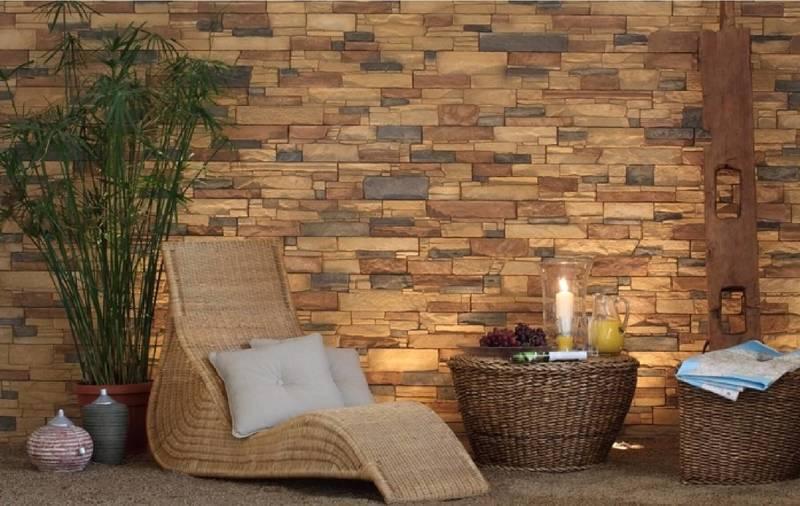 Гармония природного материала: отделка квартиры камнем