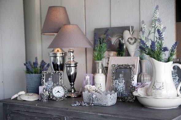 Использование серебра в декоративных элементах для дома