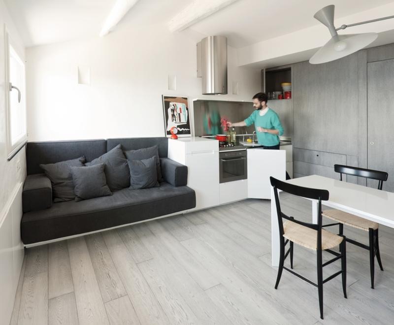 Интерьер квартиры гостиничного типа: идеи на фото