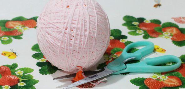 Отрезание хвостика у шарика