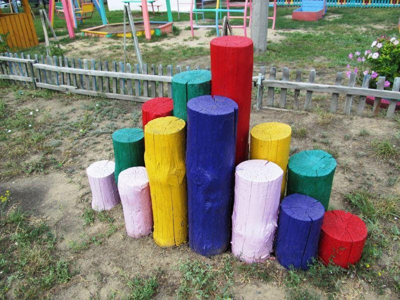 Детские площадки  своими руками из подручных материалов: фото-идеи