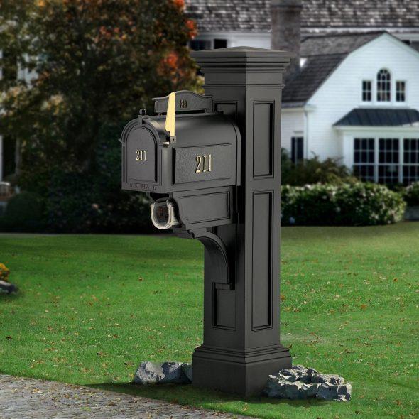Почтовый ящик в английском стиле