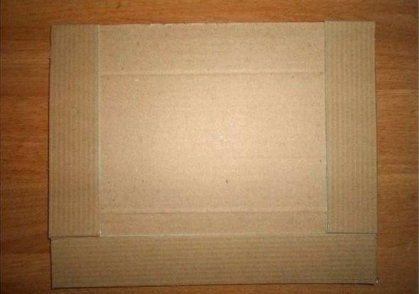 Планки из картона