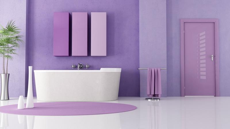 Как красиво покрасить стены в ванной своими руками: бюджетные идеи на фото