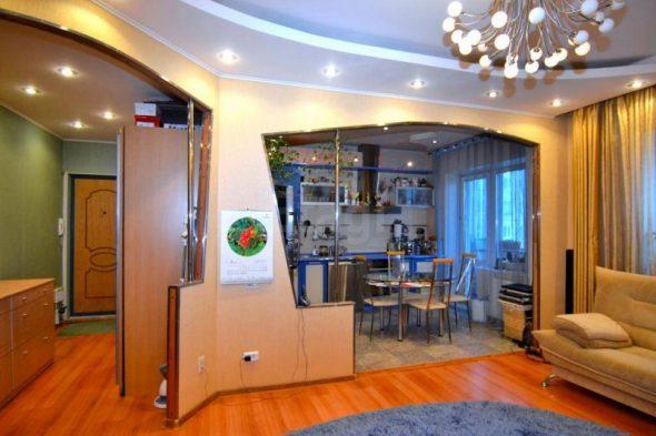 Перепланировка в малогабаритной квартире