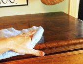 Обновление полированной мебели
