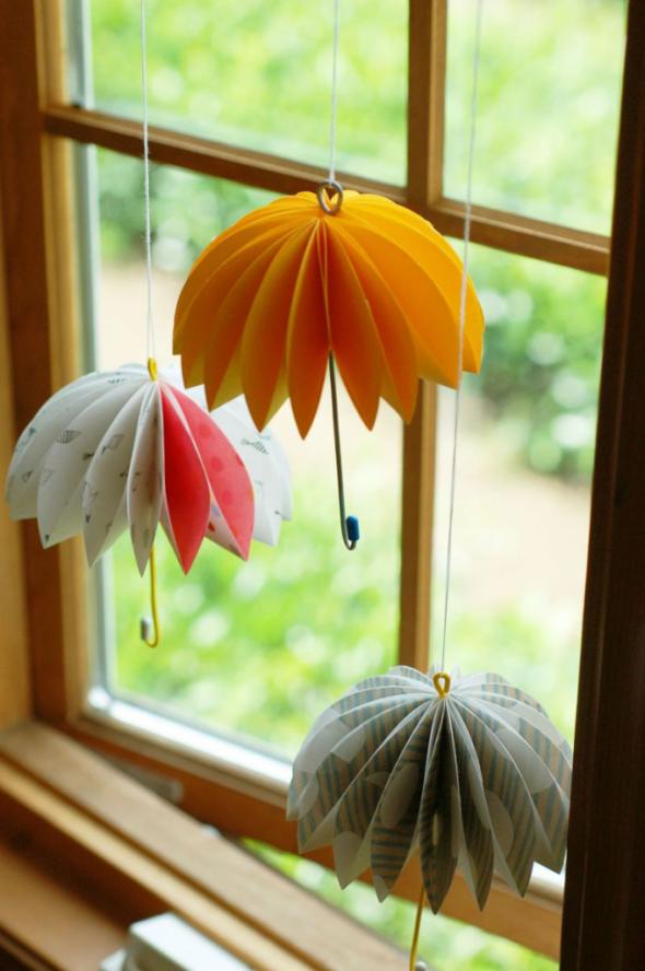 Гирлянды-зонтики