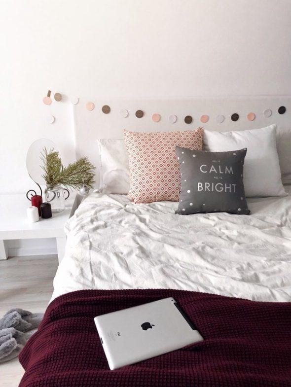 Гирлянда для спальни